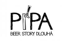 Pípa Beer story Dlouhá